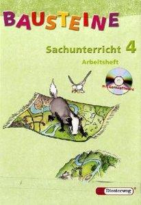 Bausteine Sachunterricht 4. Arbeitsheft mit CD-ROM. Nord. Neubea