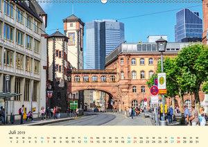 Frankfurt am Main - Finanzen und Geschichte (Wandkalender 2019 D