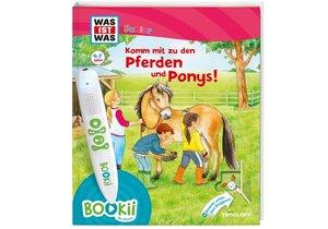 Bookii WAS IST WAS Junior Komm mit zu den Pferden und Ponys!