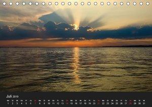 Bis zum Horizont (Tischkalender 2019 DIN A5 quer)