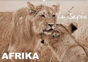 AFRIKA in Sepia