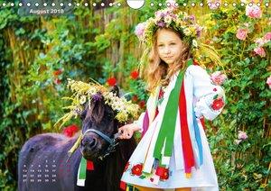 Die Seele der Ukraine. Soul of Ukraine.CH-Version (Wandkalender