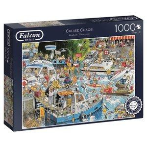 Falcon 11198 - De Luxe, Cruise Chaos, Puzzle, 1000 Teile