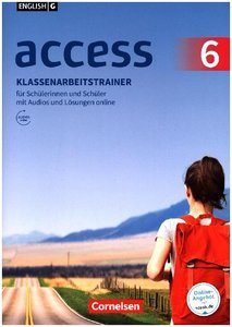 English G Access Band 6: 10. Schuljahr - Klassenarbeitstrainer m
