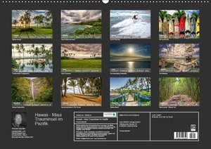 Hawaii - Maui Trauminsel im Pazifik (Wandkalender 2019 DIN A2 qu