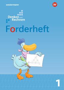 Denken und Rechnen 1. Forderheft. Allgemeine Ausgabe