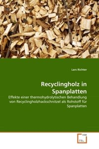 Recyclingholz in Spanplatten