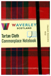 Fraser Modern Red: Waverley Genuine Tartan Cloth Commonplace Poc