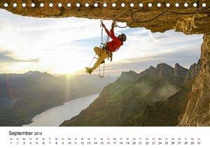 Sport in der Schweizer Natur 2018 (Tischkalender 2018 DIN A5 que