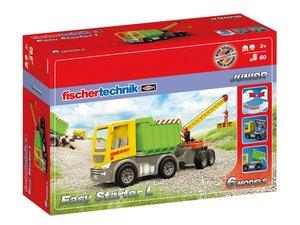 Fischertechnik 548903 - JUNIOR Easy Starter L, 6 LKW Modelle, 60