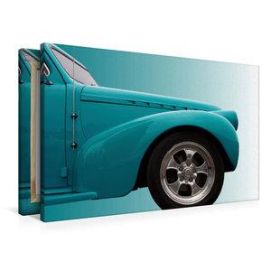 """Premium Textil-Leinwand 90 cm x 60 cm quer US-Autoklassiker \""""Ph"""