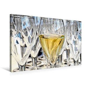 Premium Textil-Leinwand 75 cm x 50 cm quer Ein Bild von Kalender