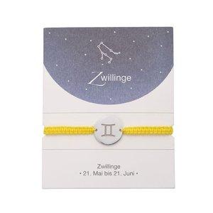 Sternzeichen Armband - Zwilling