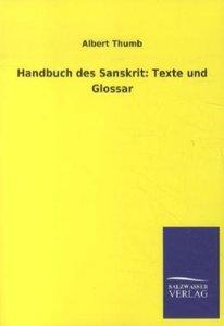 Handbuch des Sanskrit: Texte und Glossar