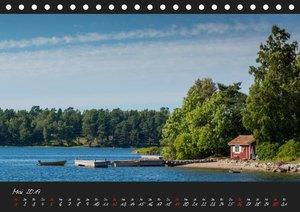 Stockholm und seine Schären (Tischkalender 2019 DIN A5 quer)