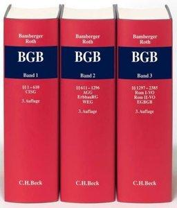 Kommentar zum Bürgerlichen Gesetzbuch (BGB), 3 Bde.