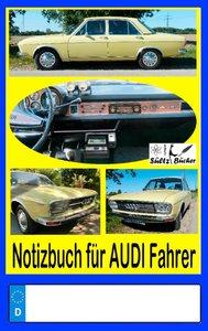 Notizbuch für Audi-Fahrer