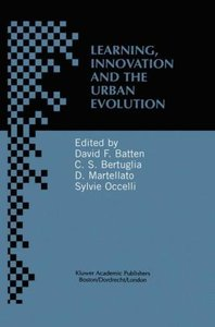 Learning, Innovation and Urban Evolution