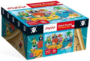 Giant Puzzle The Pirate Ship