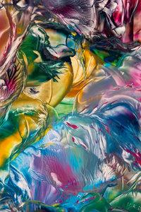 Premium Textil-Leinwand 50 cm x 75 cm hoch Zauberwald - Encausti