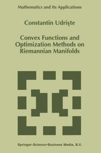 Convex Functions and Optimization Methods on Riemannian Manifold