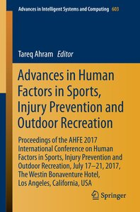 Advances in Human Factors in Sports, Injury Prevention and Outdo