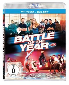 Battle of the Year 3D, 2 Blu-rays