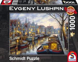 Evgeny Lushpin, Am Kanal, 1.000 Teile Puzzle