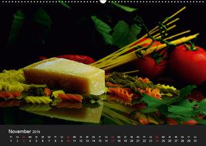 Pasta KreationenCH-Version (Wandkalender 2019 DIN A2 quer)
