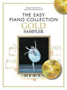 The Easy Piano Collection Gold Sampler Book