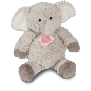Teddy Hermann 93870 - Elefant Smartie, 27 cm, Plüschtier