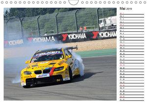 Motorsport am Nürburgring (Wandkalender 2019 DIN A4 quer)