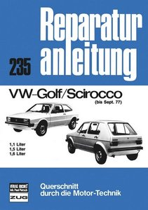 VW Golf Scirocco bis 09/77