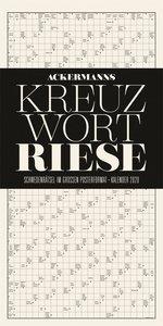Kreuzwortriese - Kreuzworträtsel-Kalender 2020