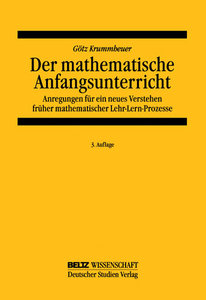 Der mathematische Anfangsunterricht