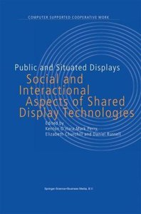 Public and Situated Displays