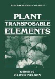 Plant Transposable Elements
