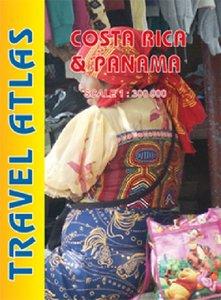 Costa Rica / Panama Travel Atlas1 : 300 000