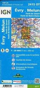2415 OT Evry.Melun.Forêts de Notre Dame de Sénart et de Rougeau