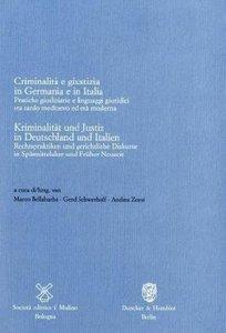 Kriminalität und Justiz in Deutschland und Italien / Criminalità