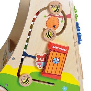 Knorrtoys 68690 - Play Pram Holzspielwagen, Lern-Spiel-Wagen aus