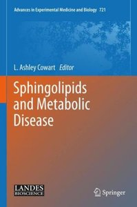 Sphingolipids and Metabolic Disease