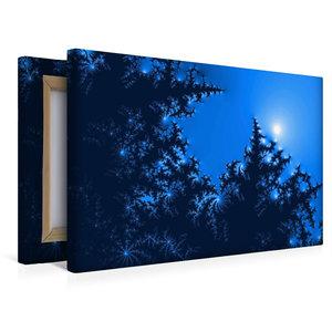 Premium Textil-Leinwand 45 cm x 30 cm quer Blue Moon