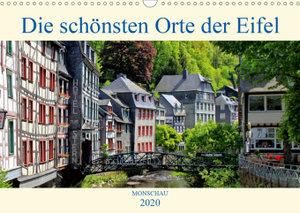 Die schönsten Orte der Eifel - Monschau (Wandkalender 2020 DIN A