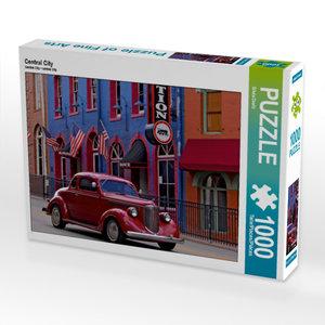 CALVENDO Puzzle Central City 1000 Teile Lege-Größe 64 x 48 cm Fo