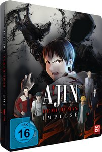 Ajin: Impulse - Teil 1 der Movie-Trilogie, 1 Blu-ray (Limited Ed