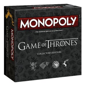 Monopoly Game of Thrones, collector´s edition