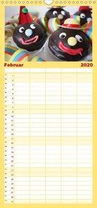 Lecker durch das Jahr - Familienplaner hoch (Wandkalender 2020 ,