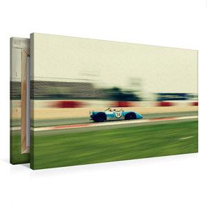 Premium Textil-Leinwand 75 cm x 50 cm quer Supersports Racing
