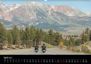 Durch die Westküste der Vereinigten Staaten (Wandkalender 2019 D